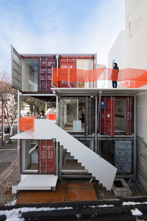 2-Daiken-Met-Architectural-Office-Shipping-Containers–Gifu-Japan